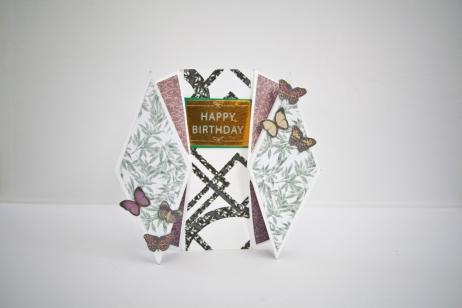 double diamond fold